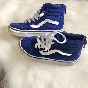 VANS Sk8-Hi Zip BLUE
